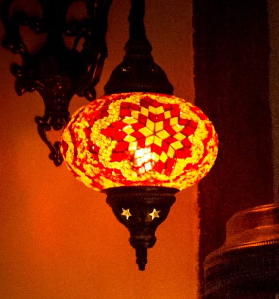 Traditional Turkish light